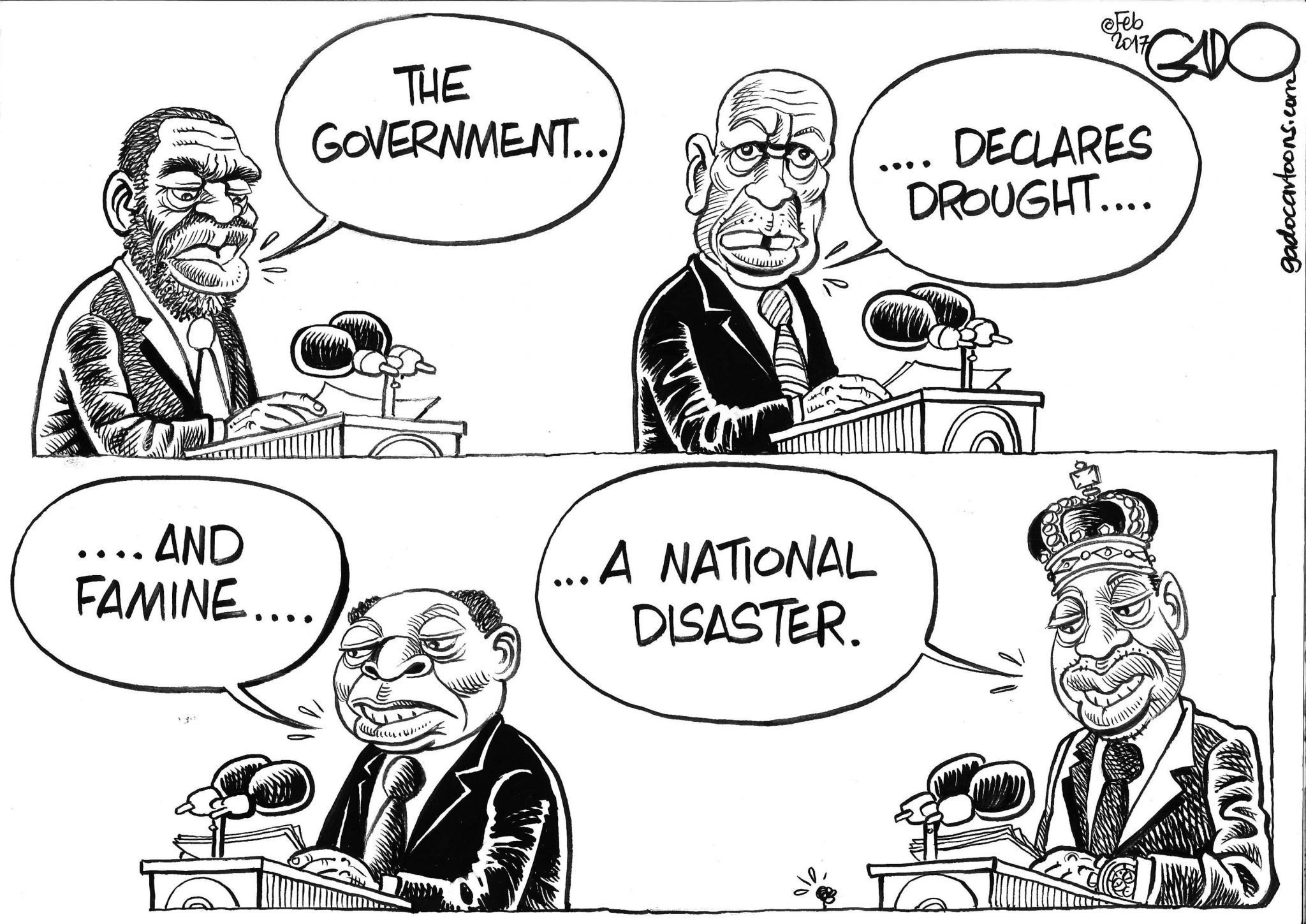 Gado Drought & Famine in Kenya